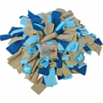 Lief! Snuffelmat Fleece Blauw