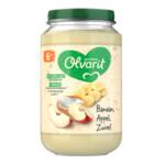 Olvarit Fruithapje 6m Banaan Appel Yoghurt