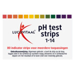 Lucovitaal Zuur Base Ph Strips
