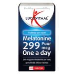 Lucovitaal Melatonine Puur 0.299mg