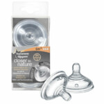 Tommee Tippee Closer to Nature Flesspeen 6+ mnd  2 stuks