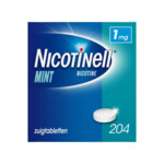 Nicotinell Zuigtablet Mint 1 mg  204 zuigtabletten