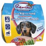 Renske Vers Vlees Voeding Hond Kip Rund  100 gr