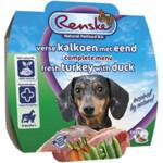 Renske Vers Vlees Voeding Hond Kalkoen Eend