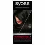 Syoss 1-1 Black Haarverf