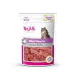Truly Cat Snacks Mini Hearts Kip & Vis