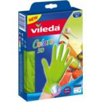 Vileda Wegwerphandschoenen Colors M / L  50 stuks