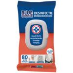 Blue Wonder Desinfectie Reiniger Doekjes   80 stuks