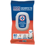 Blue Wonder Desinfectie Reiniger Doekjes