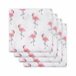 Jollein Hydrofiele Luier 4-Pack Flamingo