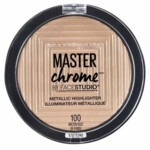Maybelline Face Studio Chrome Metallic Highlighter Gold