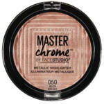 Maybelline Face Studio Chrome Metallic Highlighter 50 Molten Rose