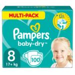 Pampers Baby Dry Luiers Maat 8 (17 kg+)