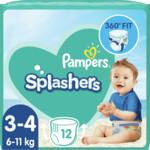 3x Pampers Splashers Zwemluiers Maat 3-4 (6-11 kg)