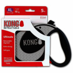 Kong Retractable Leash Ultimate Grey