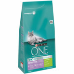 3x Purina One Sensitive Kalkoen