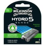 Wilkinson Men Scheermesjes Hydro 5 Sense  4 stuks