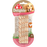 8in1 Delights Pork Twisted Sticks