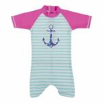 Banz Zwempak UPF 50 Turquoise/Roze