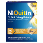 Niquitin Clear Nicotinepleisters 14 mg Stap 2