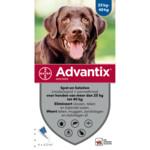 Advantix Spot On 400 Anti Vlo en Teek 25 - 40 kg  4 pipetten