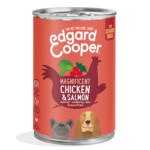 Edgard & Cooper Blik Vers Vlees Senior Kip en Zalm