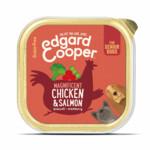 Edgard & Cooper Kuipje Vers Vlees Senior Kip - Zalm