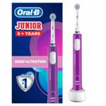 Oral-B Junior 6+ Jaar Paars Elektrische Tandenborstel