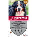 Advantix Spot On 600 Anti Vlo en Teek 40 - 60 kg