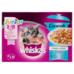 Whiskas Casserole Junior Vis Selectie in Gelei