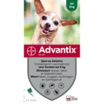 Advantix Spot On 40 Anti Vlo en Teek 0 - 4 kg