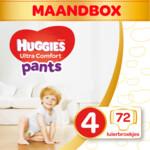 Huggies Ultra Comfort Luierbroekjes Maat 4 (9 - 14 kg)