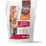 Hobby First Feline Sensitive Sterilized Kalkoen