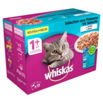 Whiskas Adult Multipack Vis in Gelei
