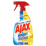 Ajax Boost Keukenspray Soda en Citroen  750 ml