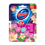 Glorix Toiletblok Power 5 Pink Flower