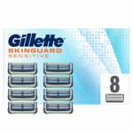 Gillette Skinguard Sensitive Scheermesjes  8 stuks