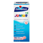 Davitamon Junior 1+ Multivitamines en Mineralen