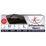 Lucovitaal Orthopedische Slipper Zwart Maat 43-44