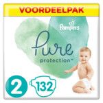 Pampers Pure Protection Luiers Maat 2 (4-8 kg)
