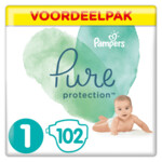 Pampers Pure Protection Luiers Maat 1 (2-5 kg)