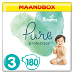 Pampers Pure Protection Luiers maat 3 (6-10 kg)