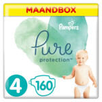 Pampers Pure Protection Luiers Maat 4 (9-14 kg)