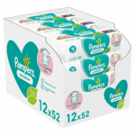 Pampers Billendoekjes Sensitive Navulpak  624 doekjes