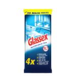 Glassex Schoonmaakdoekjes Glas & Vuil  30 stuks