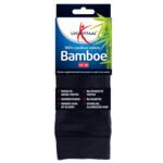 Lucovitaal Bamboe Sok Lang Blauw Maat 43-46