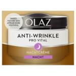Olaz Anti-Wrinkle Pro Vital Anti-Veroudering Hydraterende Nachtcrème