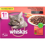 Whiskas Adult Multipack Classic Selectie Groenten in Saus