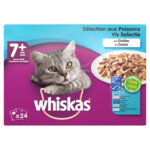 Whiskas Senior Multipack Vis in Gelei