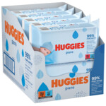 10x Huggies Billendoekjes Pure 99% Water  56 doekjes